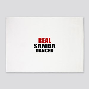 Real Samba Dancer 5'x7'Area Rug