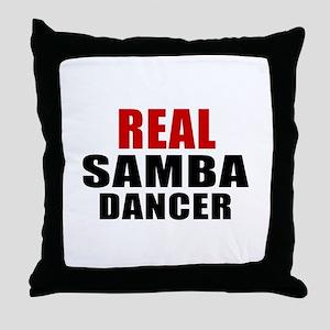 Real Samba Dancer Throw Pillow
