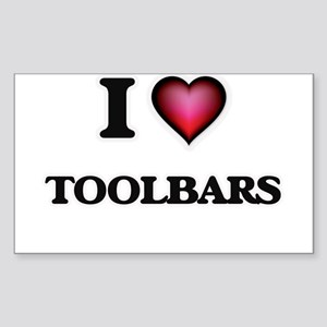 I love Toolbars Sticker