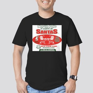 North Pole Fighting Santas T-Shirt