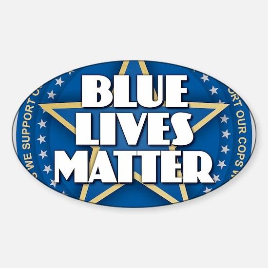 Blue Lives Matter - Stars Decal