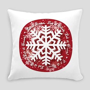 Let It Snow Design Everyday Pillow