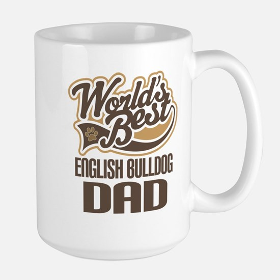 English Bulldog Dad Mugs