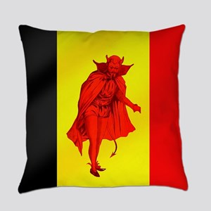 Belgian Red Devils Everyday Pillow