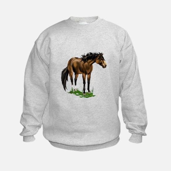 BUCKSKIN HORSE Sweatshirt