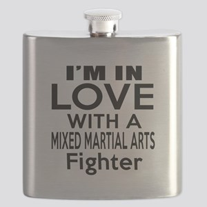 I Am In Love With Mixed Martial Arts Fighter Flask