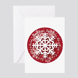 Let It Snow Design Greeting Cards