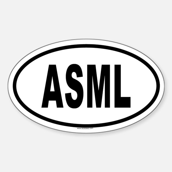 ASML Oval Decal