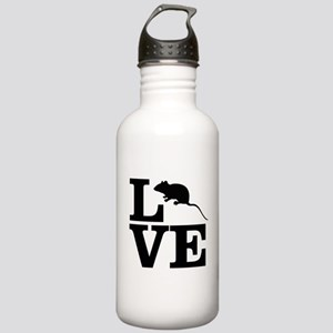 i love rats Stainless Water Bottle 1.0L