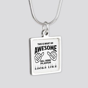 This is what an awesome Bu Silver Square Necklace