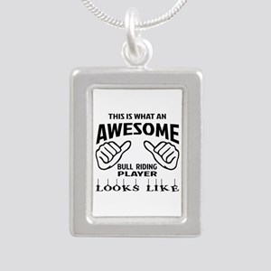 This is what an awesome Silver Portrait Necklace