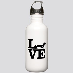 i love Dachshund Stainless Water Bottle 1.0L