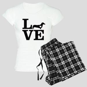 i love Dachshund Pajamas