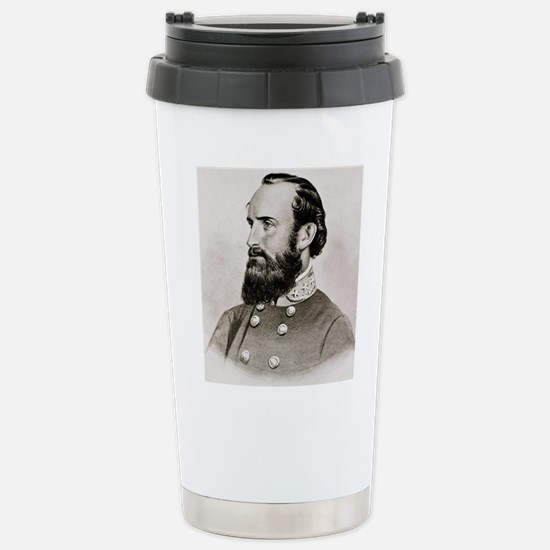 Stonewall Jackson Stainless Steel Travel Mug