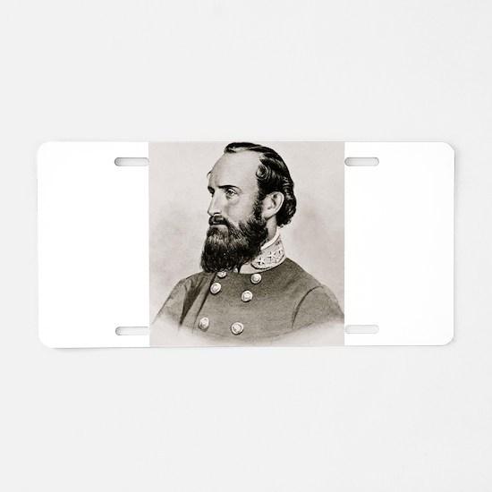 Stonewall Jackson Aluminum License Plate