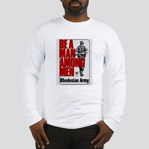 Be A Man Among Men Long Sleeve T-Shirt