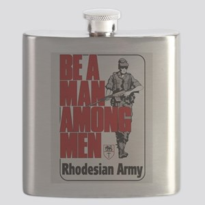 Be A Man Among Men Flask