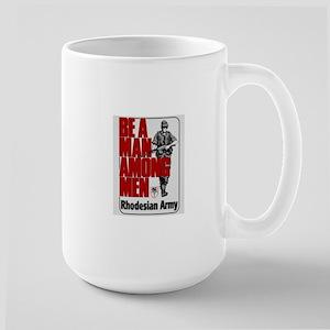 Be A Man Among Men Mugs