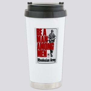 Be A Man Among Men Stainless Steel Travel Mug