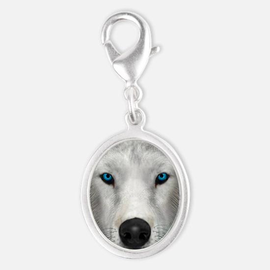 Arctic Wolf Charms