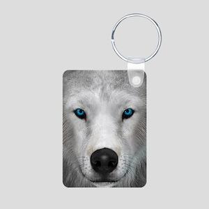 Arctic Wolf Keychains
