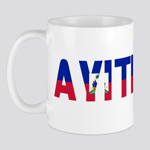 AYITI FLAG CREOLE Mug