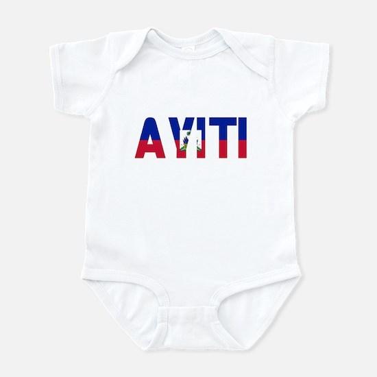 AYITI FLAG CREOLE Infant Bodysuit