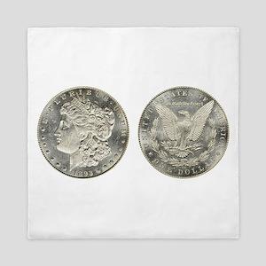 Morgan Dollars Queen Duvet