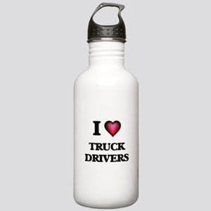 I love Truck Drivers Stainless Water Bottle 1.0L