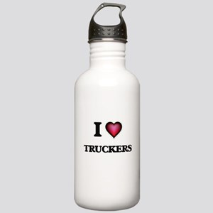 I love Truckers Stainless Water Bottle 1.0L