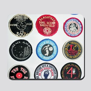 NORTHERN SOUL PATCHES Mousepad