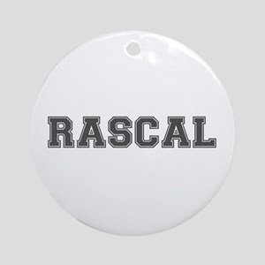 RASCAL Round Ornament