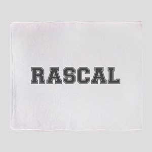 RASCAL Throw Blanket