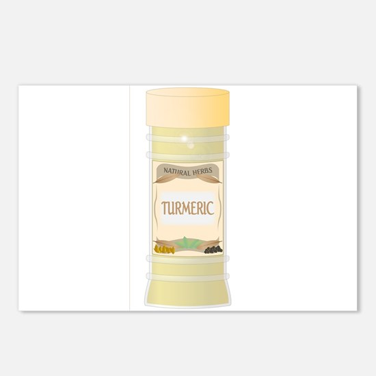 Turmeric Spice Postcards (Package of 8)