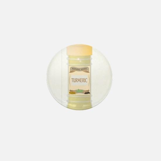 Turmeric Spice Mini Button