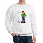 Groomer Humor - Bossy Boots Sweatshirt