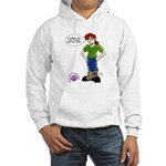 Groomer Humor - Bossy Boots Hooded Sweatshirt