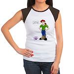 Groomer Humor - Bossy Boots Women's Cap Sleeve T-S