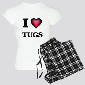 I love Tugs Pajamas