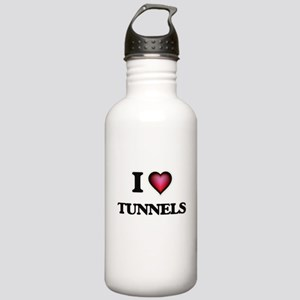 I love Tunnels Stainless Water Bottle 1.0L