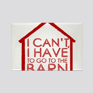 To The Barn Magnets