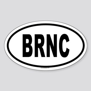 BRNC Oval Sticker