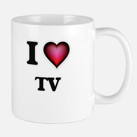 I love Tv Mugs