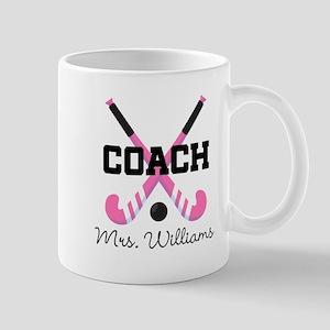 Personalized Field Hockey Coach Mugs
