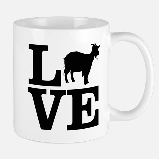 i love goats Mugs