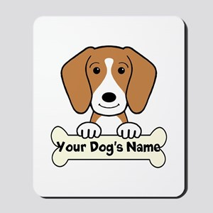 Personalized Beagle Mousepad