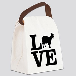 i love goats Canvas Lunch Bag