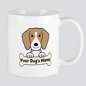 Personalized Beagle Mug