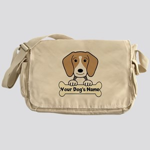 Personalized Beagle Messenger Bag