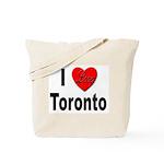 I Love Toronto Tote Bag